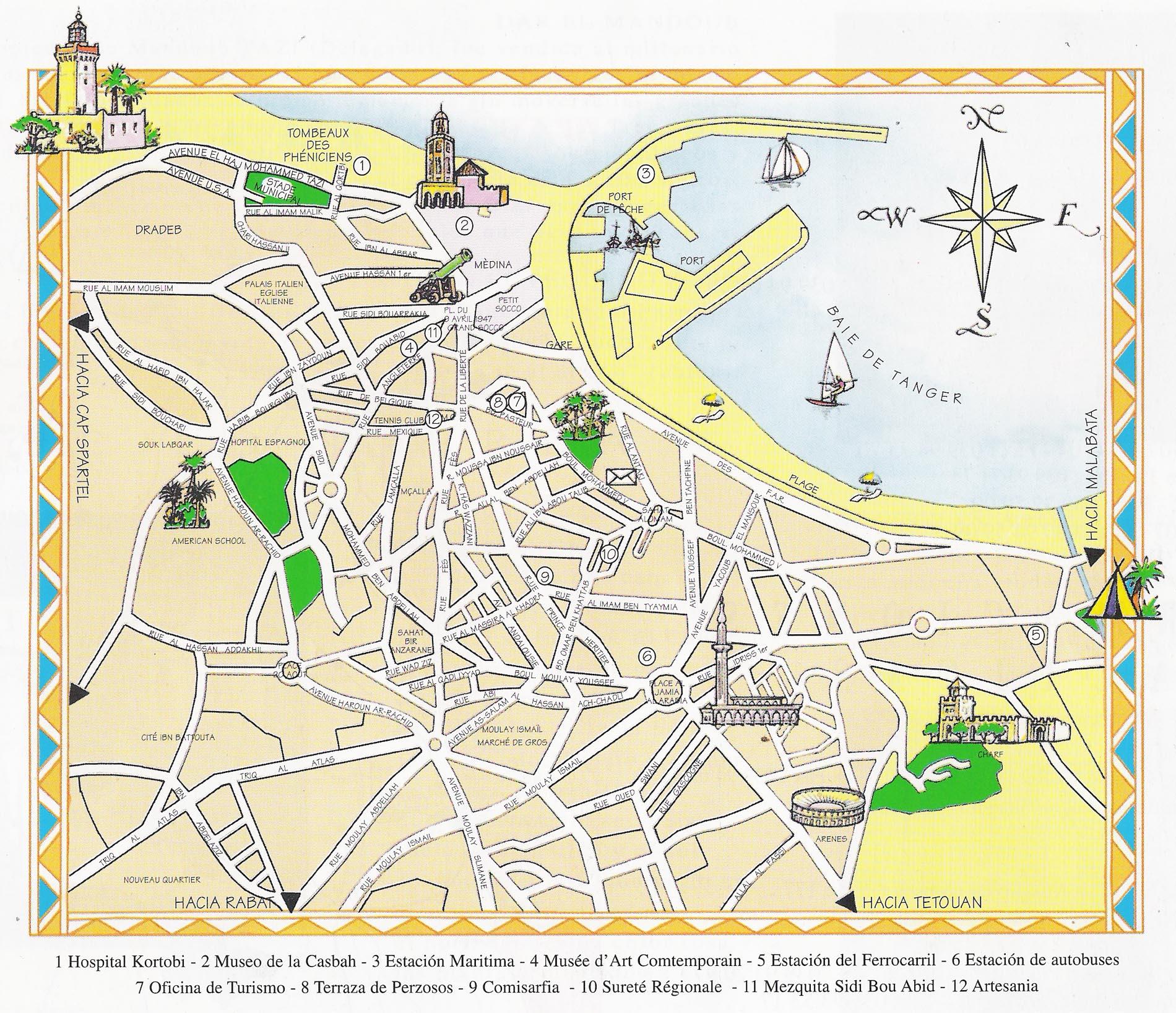 Callejero de Algeciras - Planos y Mapas de la Ciudad de Algeciras
