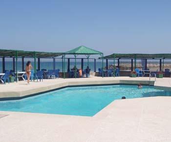 piscine de l'hôtel Tarik de Tanger