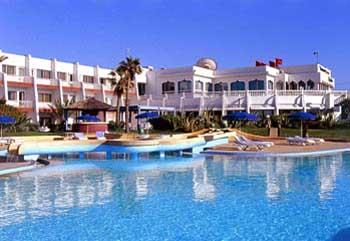 Piscine Hôtel Riad Salam Casablanca